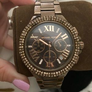 Michael Kors Camille Pave watch